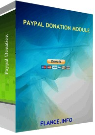 Paypal Donation Module