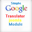 Simple Google Translator Joomla Module